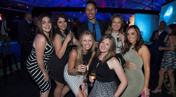 Champagne, red carpet and rubbing shoulders with the ad industry's best