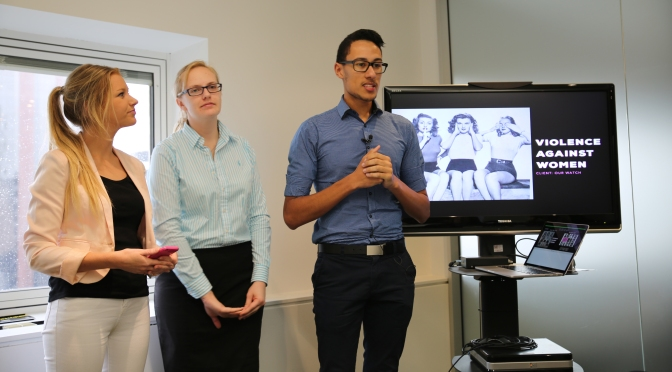 Macleay Ad Students Tackle Issue Of Domestic Violence