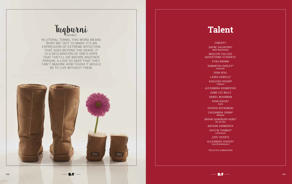 Ad students take over the 'IF' pages in B&T magazine (5/5)